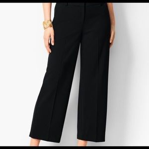 Talbots Wide Leg Crop Trousers Dress Pants N19-1
